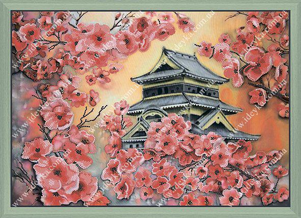 Вышивка бисером - Цветение сакуры