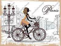 Вышивка бисером/ По улицам Парижа