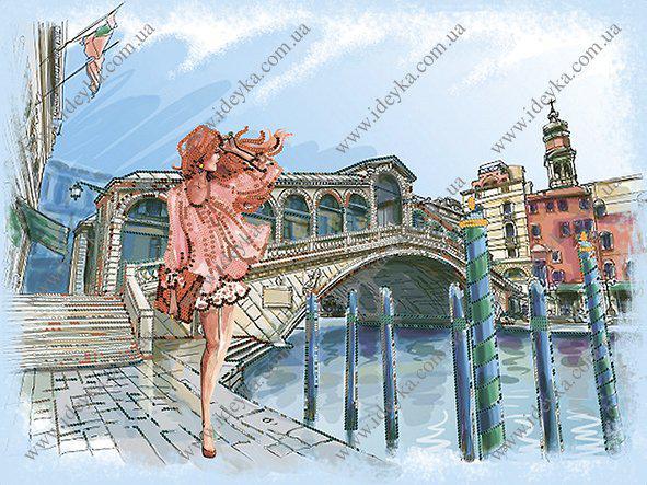 Вышивка бисером - Прогулка по Венеции