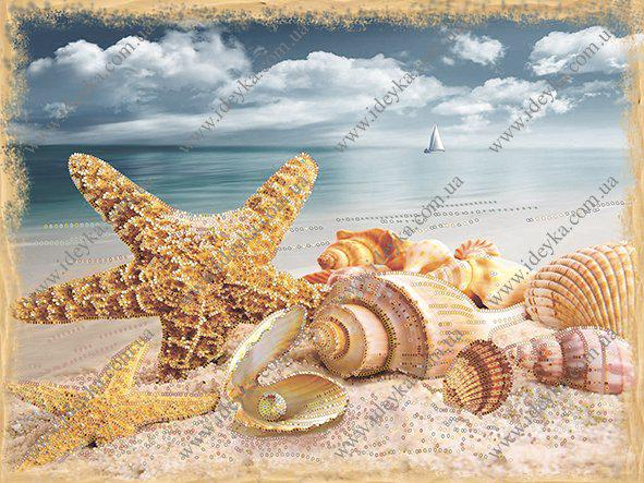 Вышивка бисером - Сокровища моря