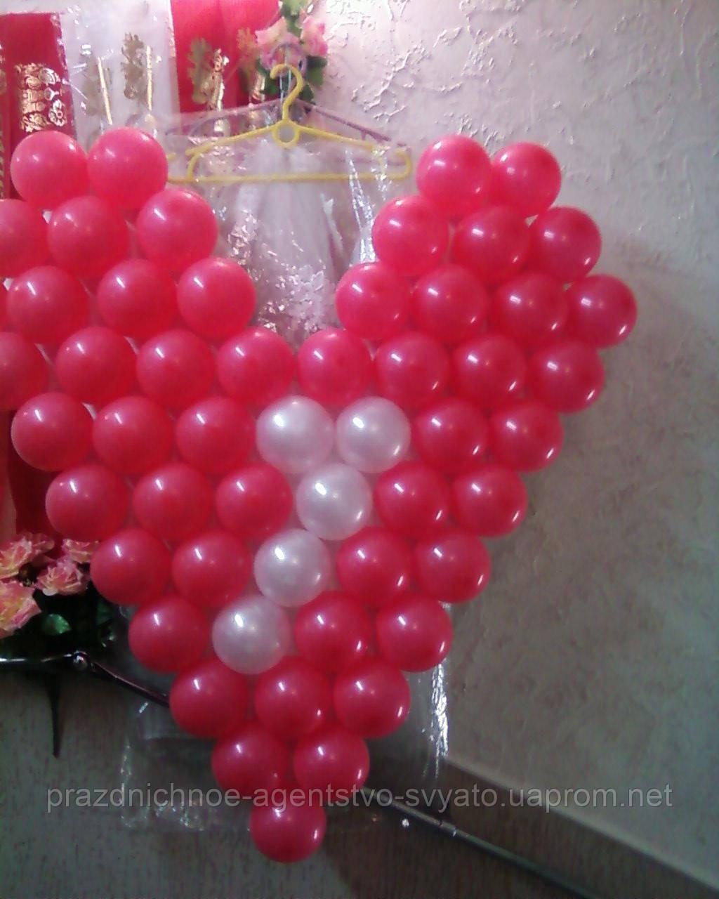 Панно из воздушных шаров