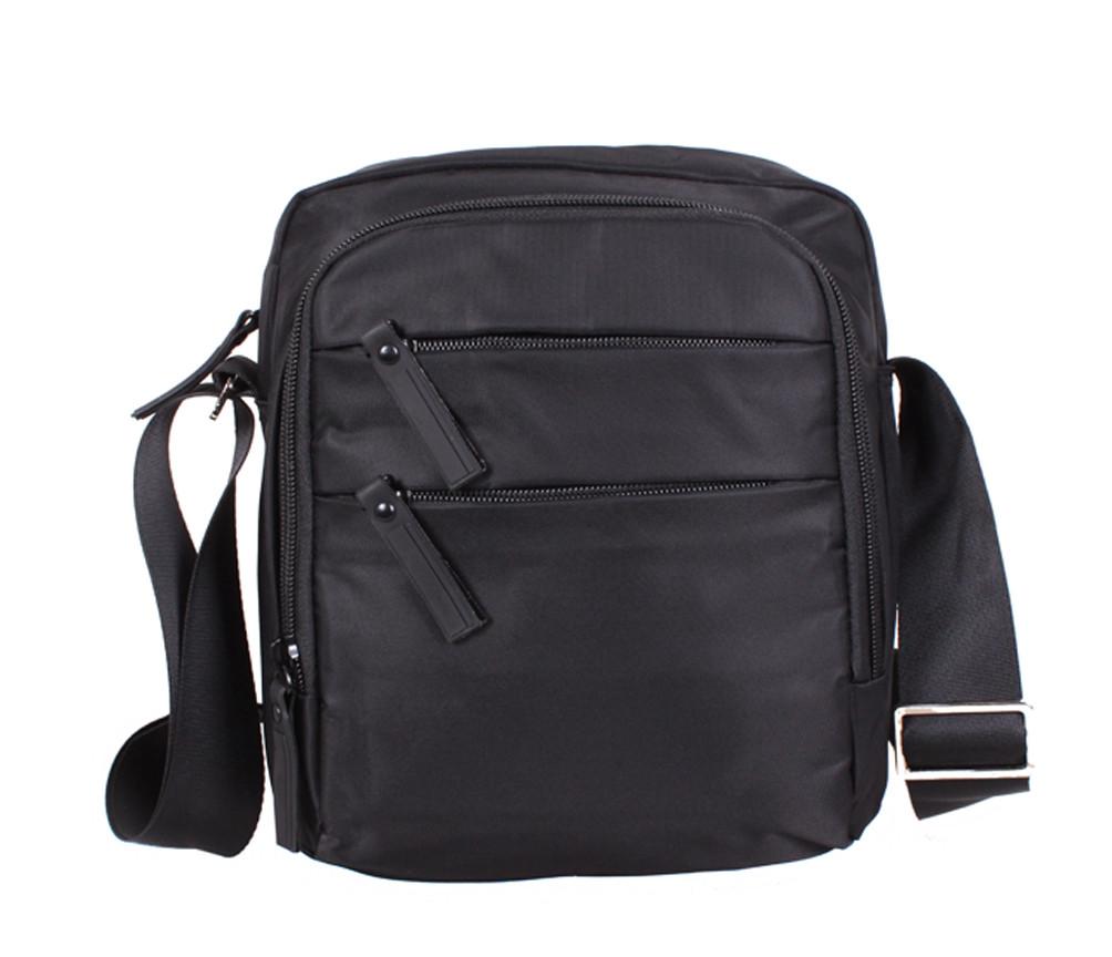 Качественная сумка через плечо Prima MP6339-22BL Черная