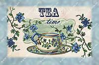 Вышивка бисером - Время чая
