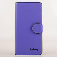 Женский клатч кошелек бумажник Baellerry Woman  Фиолетовый