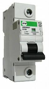 Модульный автоматический выключатель АВ2000 1Р С 10А