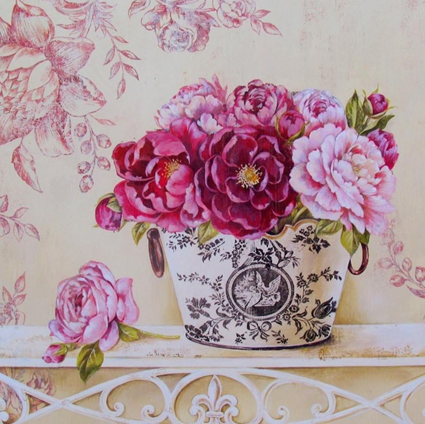 Картины по номерам/ Английские розы