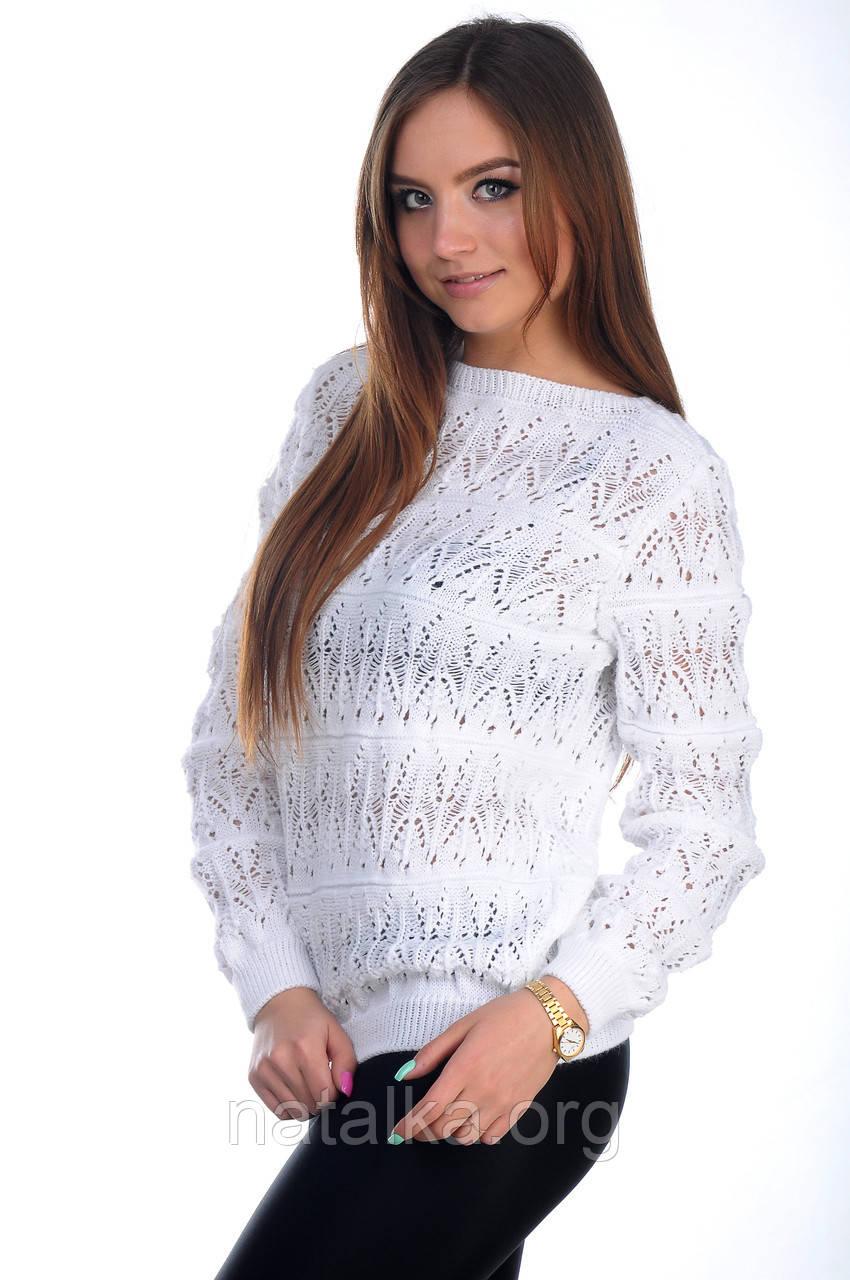 Джемпер женский  Аврора белый