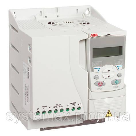 Преобразователь частоты ABB ACS310-03E-17A2-4 (7.5 кВт, 380 В), фото 2