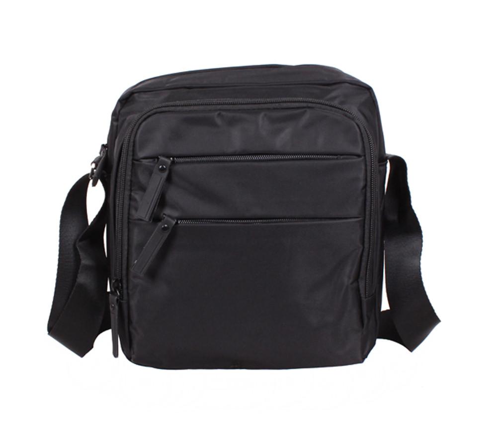 06535f1bade8 Стильная сумка из ткани черного цвета Prima MP6339-33BL Черная - Интернет  магазин