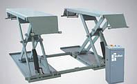 Автомобильный ножничный электрогидравлический подъемник (передвижной), (SR-3030С) SkyRack