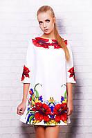 Платье Тая-3 маки д/р, фото 1