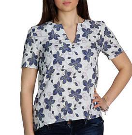 Женская блузка с коротким рукавом (Арт. AT510/4) | 3 шт.