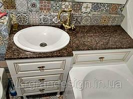 Гранитная Столешница в ванную комнату