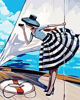 Картина по номерам - Прогулка на яхте