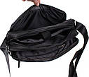 Мужская текстильная сумка XXLP83100BBL черная, фото 5