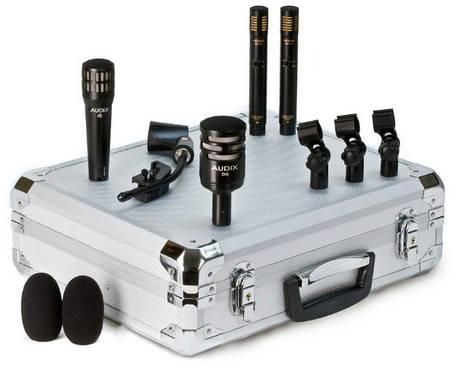 Набор из четырех микрофонов для барабанной установки AUDIX DP Quad, фото 2
