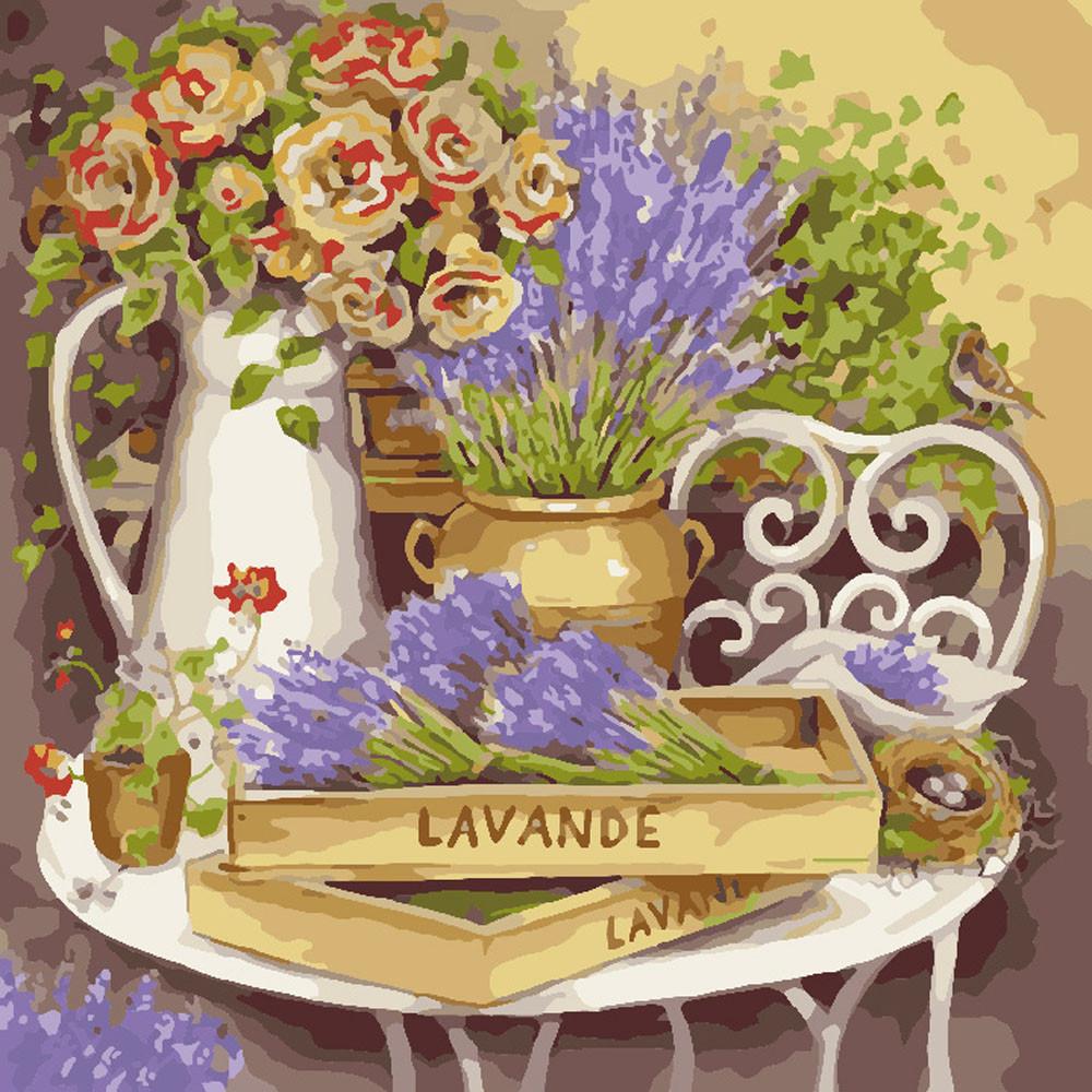 Картины по номерам - Цветы прованса