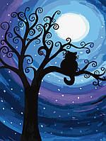 Картина по номерам - Лунная ночь