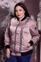 Бомбер для крупных женщин, с 48 по 82 размер, фото 1