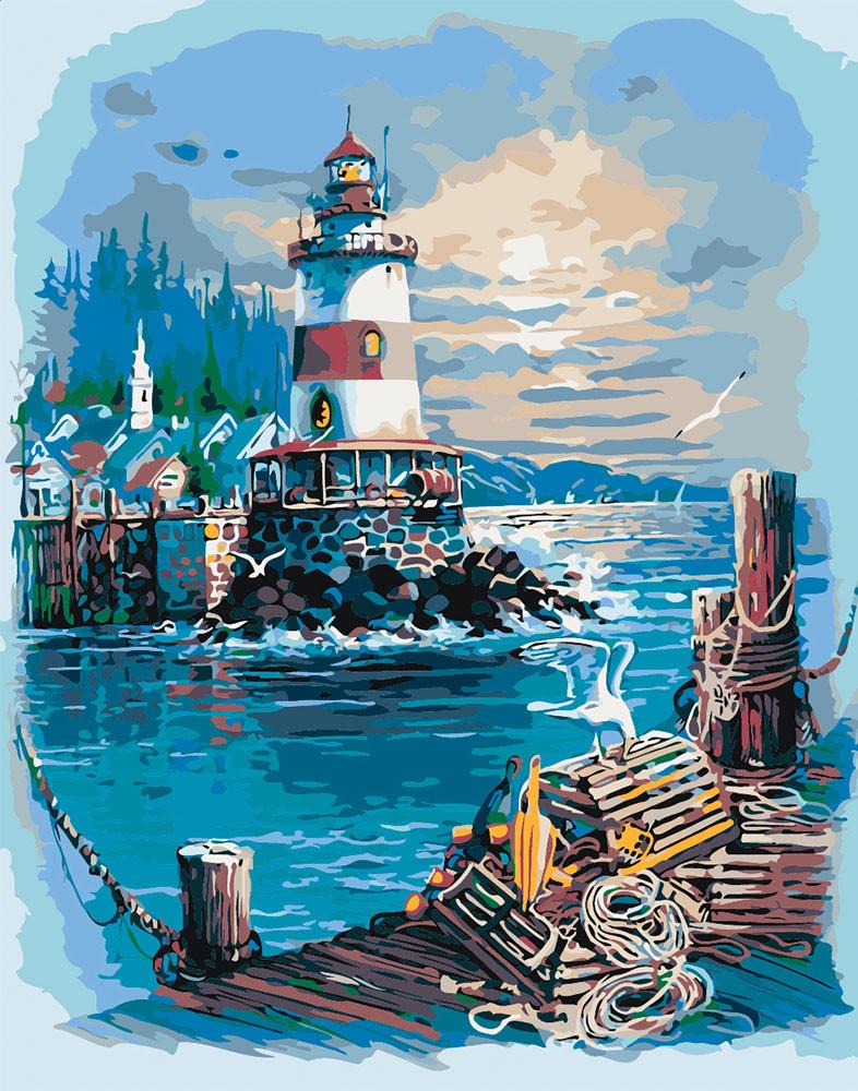 Картина по номерам - Тихая гавань