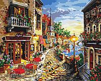 Картина по номерам - Уютная улочка
