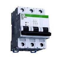Модульный автоматический выключатель АВ2000 3Р С 6А