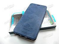 Чехол книжка MOFI Vintage Xiaomi Redmi 5 Plus (синий), фото 1
