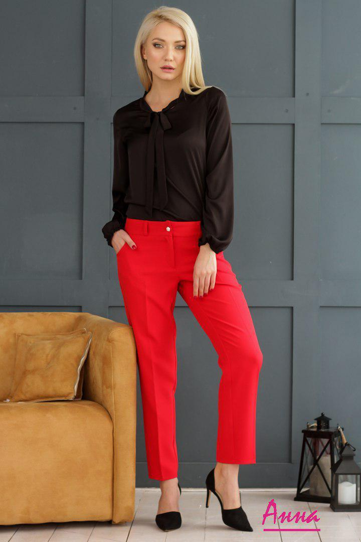 2f55d6d9a421 Купить Классические женские укороченные брюки прямого кроя tez6412256  недорого в ...