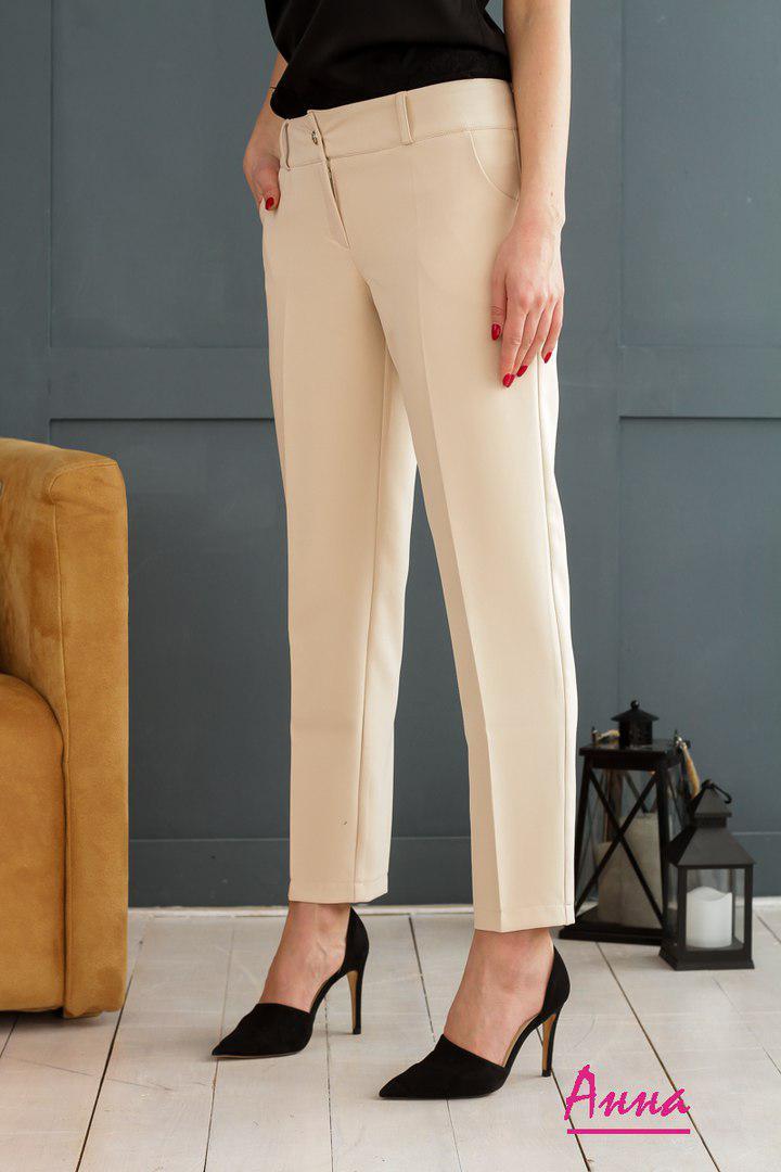 1a833b138d8d Классические женские укороченные брюки прямого кроя tez6412256