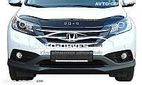 Дефлектор капота (мухобойка) Honda CR-V 2012-2017