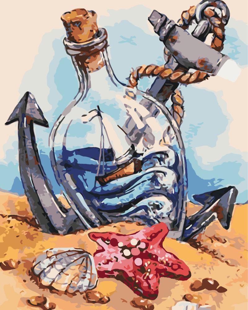 Картина по номерам - Морское настроение