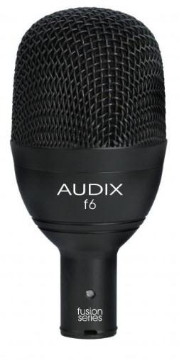 Динамический инструментальный микрофон для бас-барабана AUDIX f6