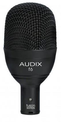 Динамический инструментальный микрофон для бас-барабана AUDIX f6, фото 2