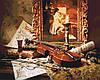 Картина по номерам - Волшебная музыка скрипки