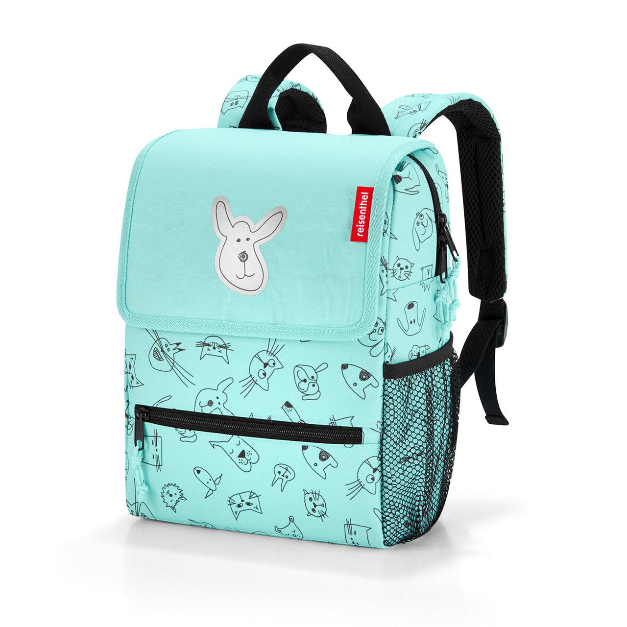 Ранец Reisenthel ie 4062 backpack kids cats and dogs mint