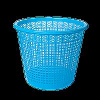 Корзина для бумаг 8 л, ZiBi, синий (ZB.3040-02)