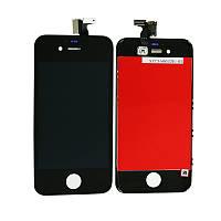 LCD Дисплей+сенсор  iPhone 4S черный (Original Pass)