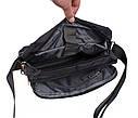 Мужская текстильная сумка XXL8310A-BLACK черная, фото 6