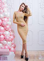 Облегающее платье с люрекса, фото 1