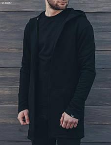 Мантия черная Staff black VLD0092 р. ХХЛ-ка