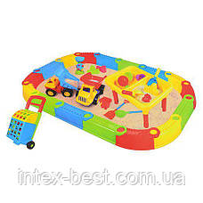 Разборная песочница с игрушками Bambi M 2156 , фото 3