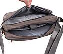 Горизонтальная тканевая сумка формата А4 Nobol XXL8310B-GREY Серая, фото 5