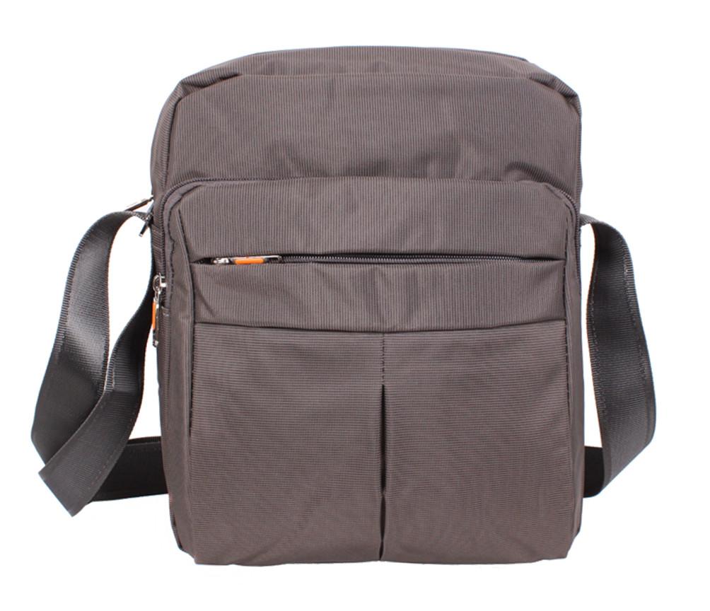 Качественная мужская сумка формата А4 Nobol XXL8310A-GREY Серая