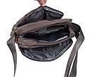 Качественная мужская сумка формата А4 Nobol XXL8310A-GREY Серая, фото 5