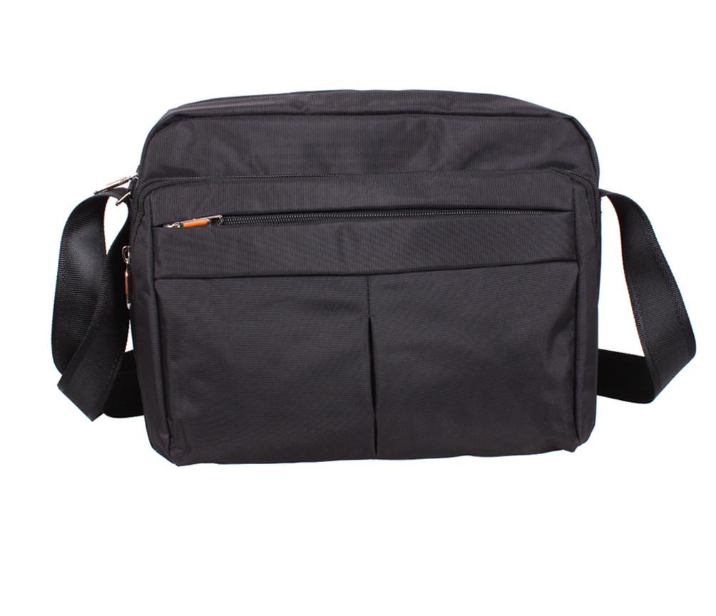Мужская текстильная сумкаXXL8310B-BLACK черная