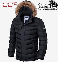 Куртки зимние с мехом Braggart Aggressive - 1920#1919 черный, фото 1