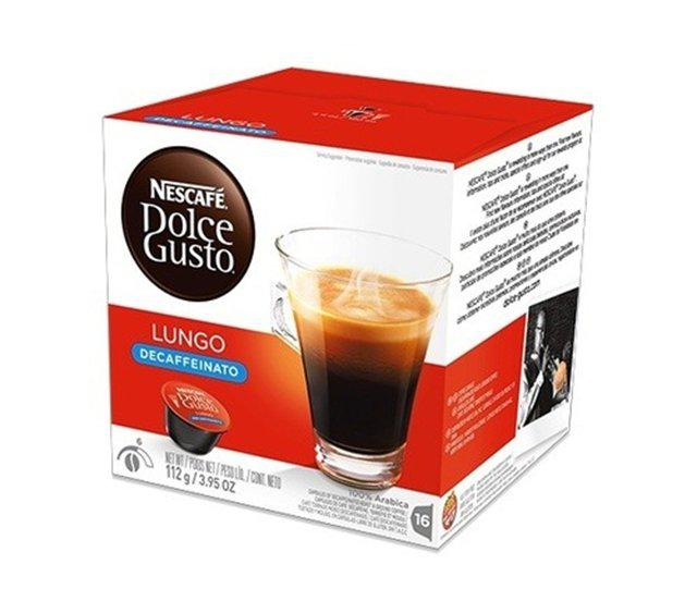 Кофе в капсулах NESCAFE Dolce Gusto Lungo Decaffinato 16 шт