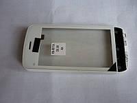 Тачскрин (сенсор) с передней панелью для Nokia C5-03, C5-01, C5-04, C5-06 (White) Original