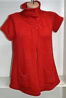 Женский джемпер  короткий рукав с карманами, фото 1