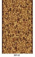 Бежевая коричневая ковровая дорожка на отрез разные цвета, фото 1
